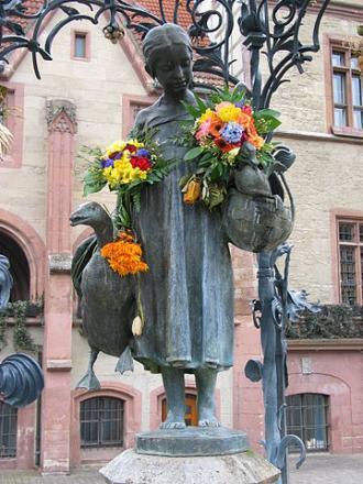 Stadtbild aus Göttingen